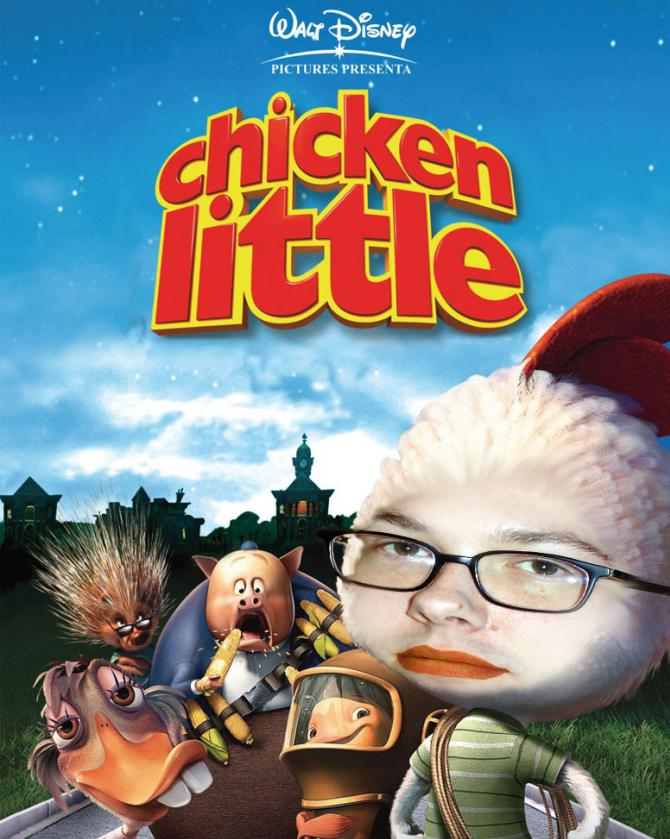 Shawn Dowler as Chicken Little