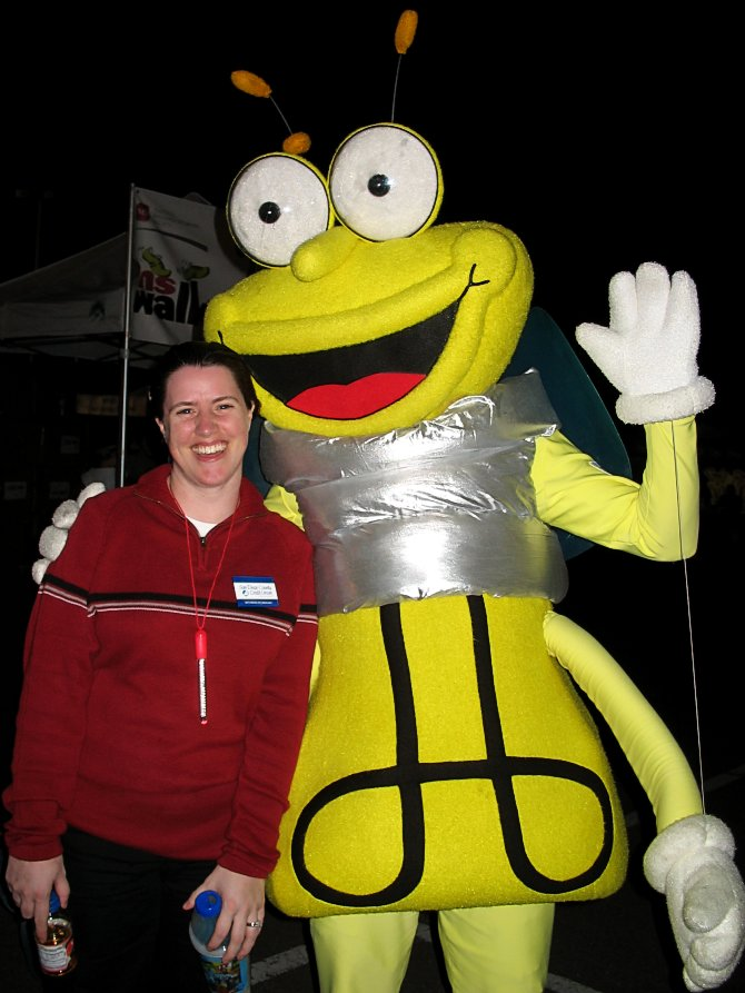 Here is the ambiguous mascot for SDG&E.  Looks like a lightbulb with arms and a head added for anthropomorphic effect.