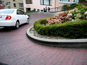 Lombard Street: The least-straight street in the world.